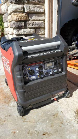 Predator 3500 watt Inverter Generator camper RV Trailer Motorhome for Sale in Menifee, CA