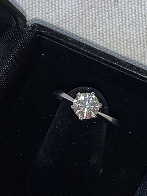 Moissanite engagement bridal wedding ring ✨ GUARANTEED TO PASS DIAMOND TEST ✨ promise Ring for Sale in Las Vegas, NV