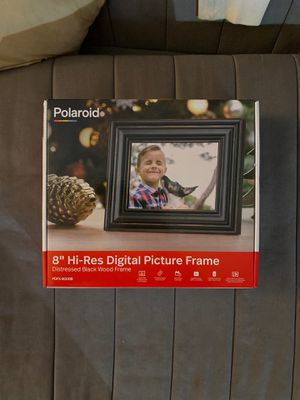 """Polaroid 8"""" digital picture frame for Sale in Queens, NY"""