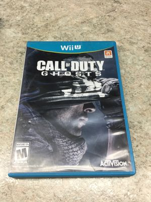 Call of Duty Ghosts Wii U for Sale in Portland, OR