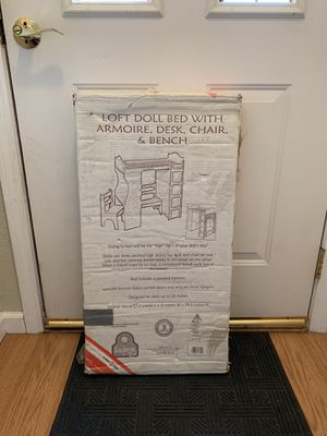 Doll Loft Bed Set for Sale in Suisun City, CA