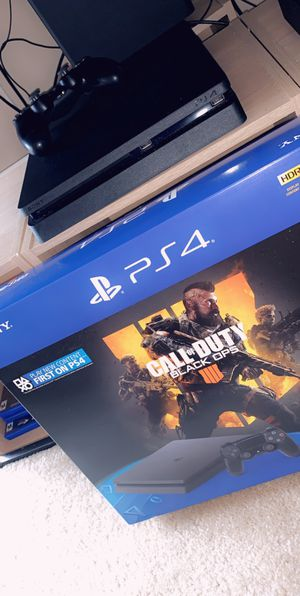 PS4 PlayStation, Jet Black 1TB for Sale in Washington, DC