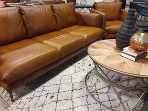 NEW IMPORTED ITALIAN LEATHER SOFA for Sale in Nashville, TN