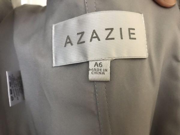 Azazie Ginger - Silver (Grey)