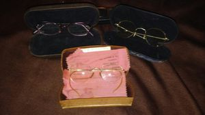 Vintage/Antique Eye Glasses-lot of 3 for Sale in Cayce, SC