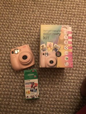 Reduced!!!!!Mini insta camera with film and accessories never used for Sale in Richmond, VA