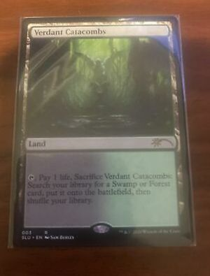 Secret Lair Verdant Catacombs Magic the Gathering for Sale in Los Angeles, CA
