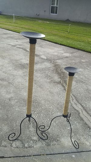 Iron candle holder for Sale in Sanford, FL