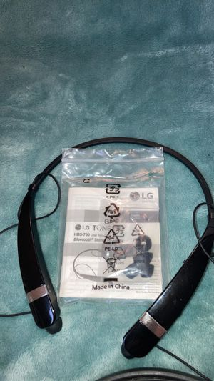 LG Tone pro HBS-760 Bluetooth Stereo Headset for Sale in VERNON ROCKVL, CT
