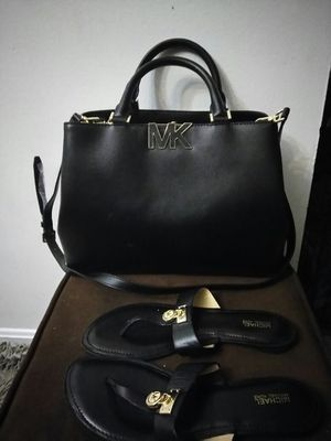Michael kors bag and sandals for Sale in Rockville, MD