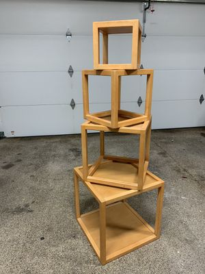 Decorative Cube Wooden Shelves for Sale in Hilliard, OH