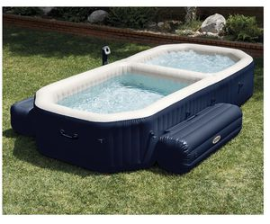 Intex massage bubbler hot tub and pool for Sale in New London, CT