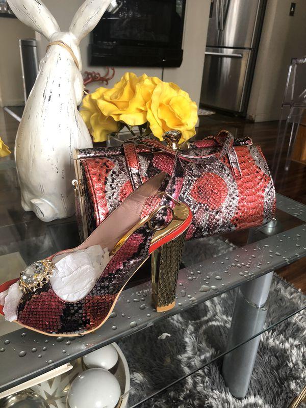 Bag and shoes set
