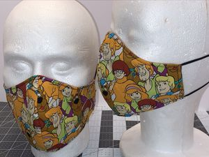 Scooby Doo - Reversible & Reusable Mask for Sale in Columbus, OH