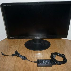 """Acer S200HQL GBD 19.5"""" LED Backlit Monitor 1920x1080 w/ Adapter for Sale in Garland, TX"""