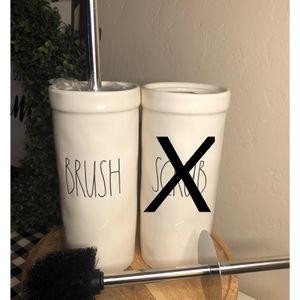 Rae Dunn Bathroom Toilet Bowl BRUSH Cleaner for Sale in San Bernardino, CA