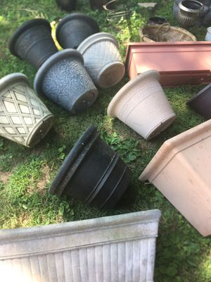 Flower / planting pots $5-$10 each for Sale in Syosset, NY