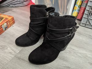 Torrid black boots (Size 9.5) for Sale in Whittier, CA