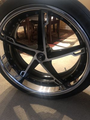 Three black and chrome 22s for Sale in Silver Spring, MD