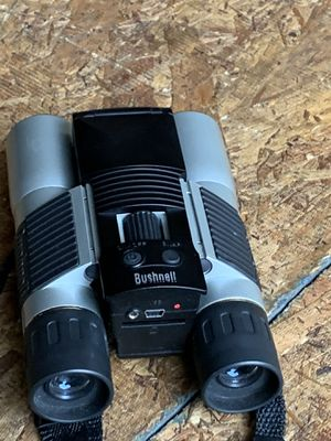 Bushnell binoculars 8x30 takes photos model 11-0832 for Sale in Federalsburg, MD