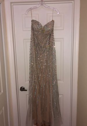 Jovani Champagne Prom Dress for Sale in Monroe Township, NJ