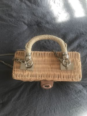 Straw bag for Sale in Vancouver, WA