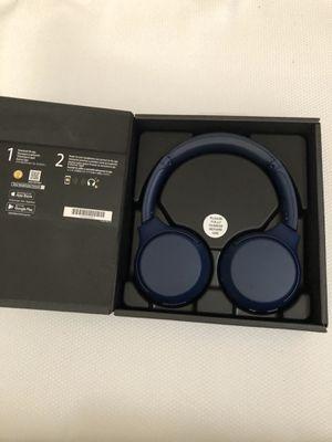 Sony - WH-XB700 Wireless On-Ear Headphones - Blue ( WHXB700 ) for Sale in Garland, TX