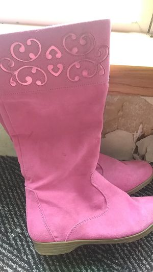 Lil girls boots size 1 for Sale in ORCHARD GRASS, KY