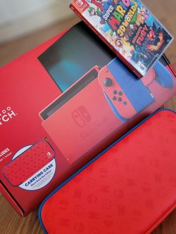 Nintendo SWITCH & Super MARIO 3D world+BowserFury for Sale in Las Vegas,  NV