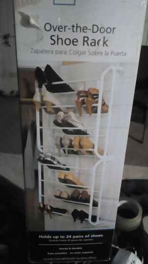 Mainstay - over the door shoe rack for Sale in Los Angeles, CA