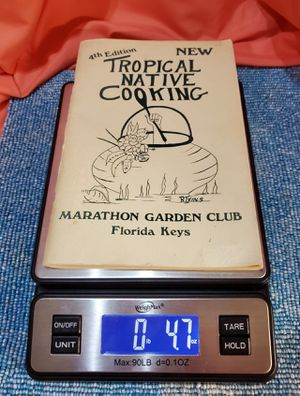 """""""Tropical Native Cooking"""" Cook Book 1977 Florida Keys for Sale in Port St. Lucie, FL"""