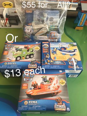 The Ultimate Rescue Paw Patrol Sets for Sale in San Diego, CA