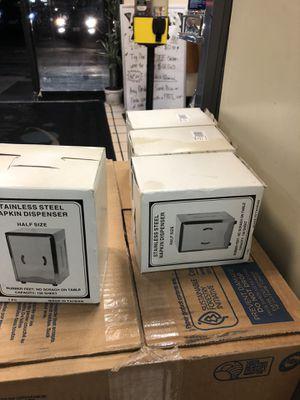 Stainless Steel Napkin Dispenser for Sale in Randolph, MA