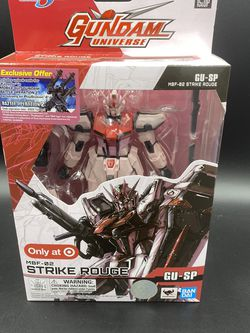Bandi Gundam Universe MBF-02 STRIKE ROUGE GU SP Target Exclusive - NEW 2021 for Sale in Peoria,  IL