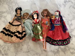 5 Different Vintage Dolls for Sale in Tempe, AZ