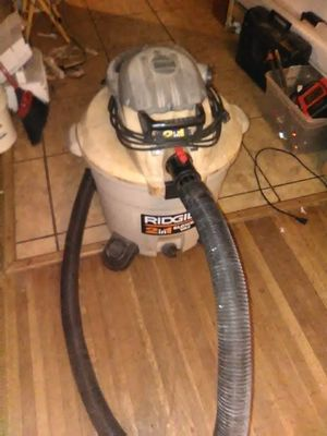 Rigid 16gal shop vac and blower for Sale in Pasadena, TX
