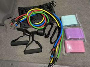 Resistance Bands/ Booty Bands/ Lacrosse Ball for Sale in Fullerton, CA