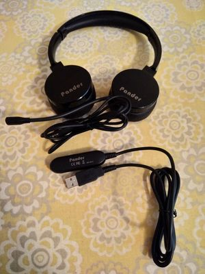 Pander Wired USB Headset for Sale in Kannapolis, NC