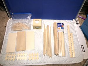 Woodwork crafting material for Sale in Ashburn, VA