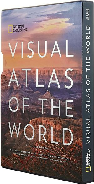 National Geographic Visual Atlas of the World 2nd Edition for Sale in Milpitas, CA