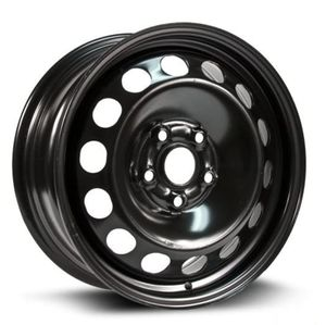 RTX, Steel Rim, New Aftermarket Wheel, 16X6.5, 5X112, 57.1, 50, black finish X99127N for Sale in Oakland, CA