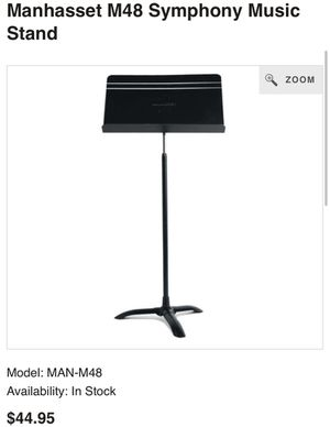Manhasset M48 Symphony Music Stand for Sale in Irvine, CA