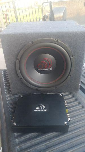 500 W massive audio system for Sale in Fresno, CA