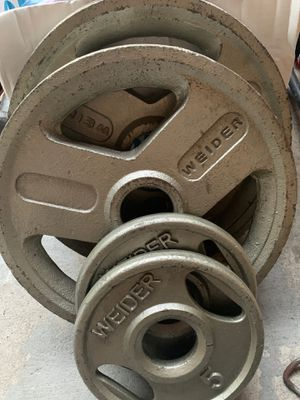 Olympic weights 2x25 and 2x5 for Sale in City of Industry, CA