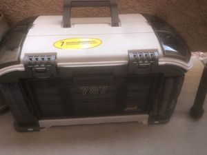 Fishing rods and tackle boxes. for Sale in Henderson, NV