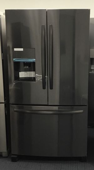 Black Stainless French Door Refrigerator for Sale in Phoenix, AZ