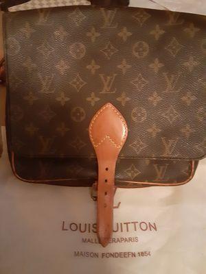 Amazing shape rare authentic Louis Vuitton crossbody cartouchiere for Sale in Las Vegas, NV