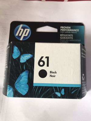 hp black ink 61 for Sale in Margate, FL