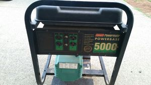 5000 watt 10hp Briggs generator - used today but now wont start - governor linkage issues for Sale in Vancouver, WA
