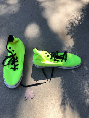 High top neon green vans for Sale in Phoenix, AZ
